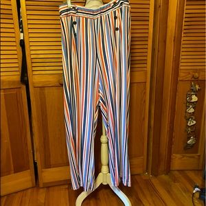 Robert Louis Striped Palazzo Pants
